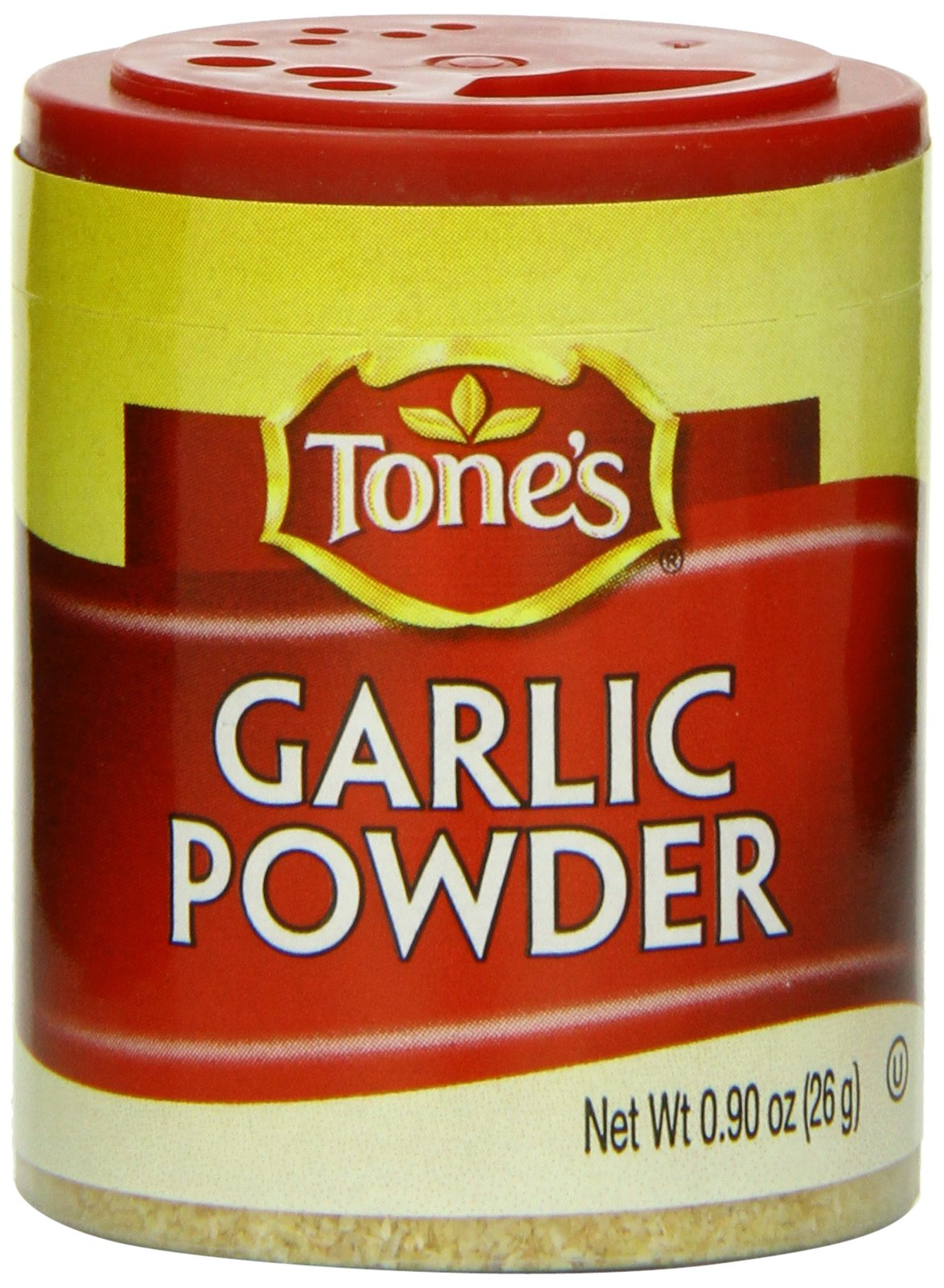Tone's Mini's Garlic Powder, 0.90 Ounce (Pack of 6)