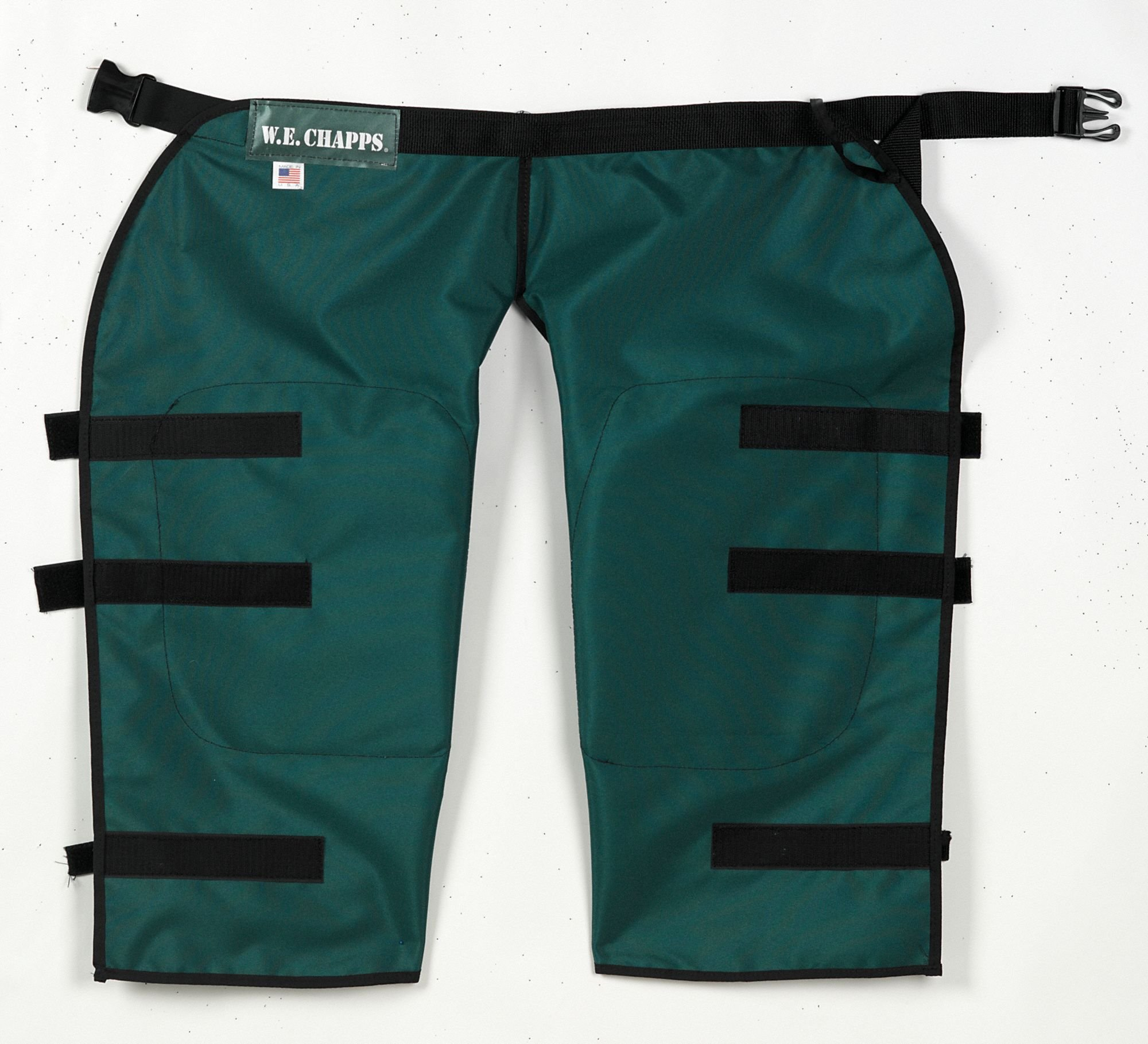 Hedge Trimmer Chaps, Dark Green, 29x29In by W.E. Chapps, Inc. (Image #1)