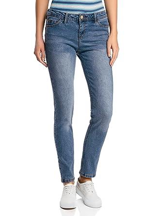Modestil offizieller Preis beste Wahl oodji Ultra Damen Skinny Push-Up Jeans