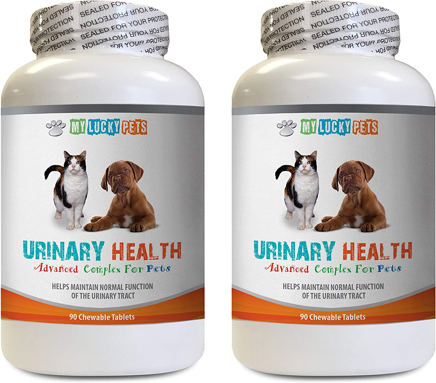 Urinary Tract cat Food - Pets Urinary Health Complex - for Dogs and Cats - Advanced Bladder Support - cat Cranberry Treats - 2 Bottles (180 Treats)