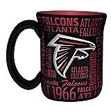 NFL Atlanta Falcons Sculpted Spirit Mug, 17-ounce
