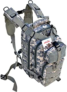 Large 45L COYOTE TAN Rio Grande Hiking Tactical Military Style Backpack 24x18x8