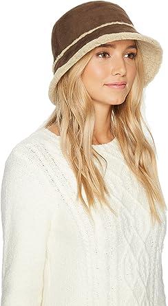 5b98effeb UGG Women's Waterproof Sheepskin Bucket Hat Slate Curly LG/XL ...