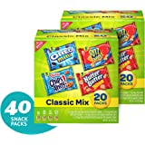 Nabisco Classic Cookie & Cracker Variety Packs - 40 Individual Snack Packs