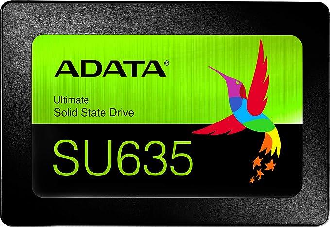 Amazon.com: ADATA SU635 240GB 3D-NAND SATA 2.5 Inch Internal SSD (ASU635SS-240GQ-R): Computers & Accessories