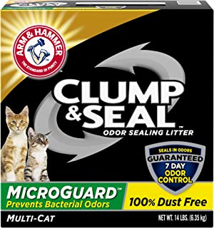 product image for Arm & Hammer Clump & Seal MicroGuard Cat Litter, 14 lb
