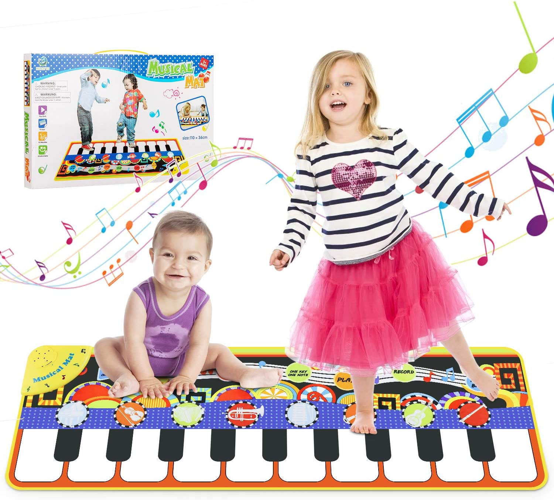Wostoo Music Mat For Kids Toddler Girls Boys
