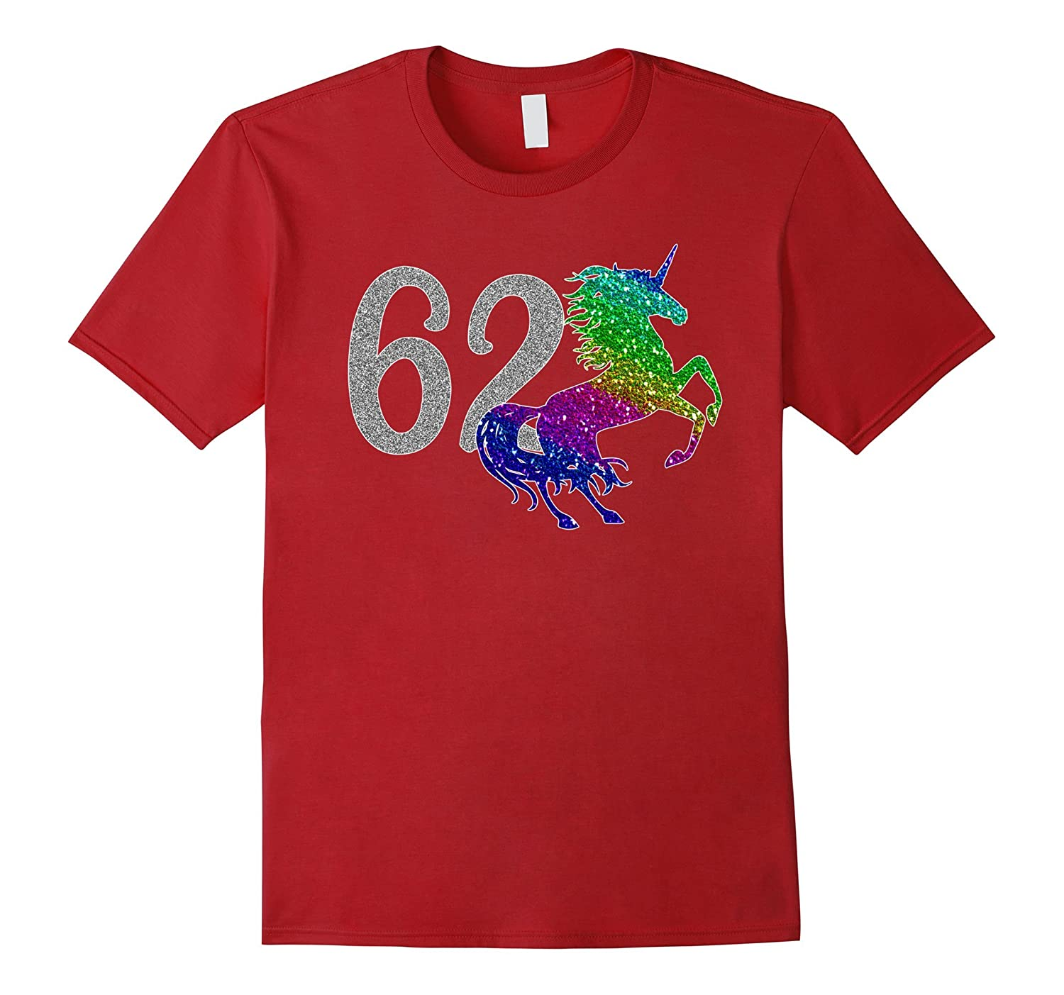 62 Year Old Shirt Unicorn 62nd Birthday TShirt