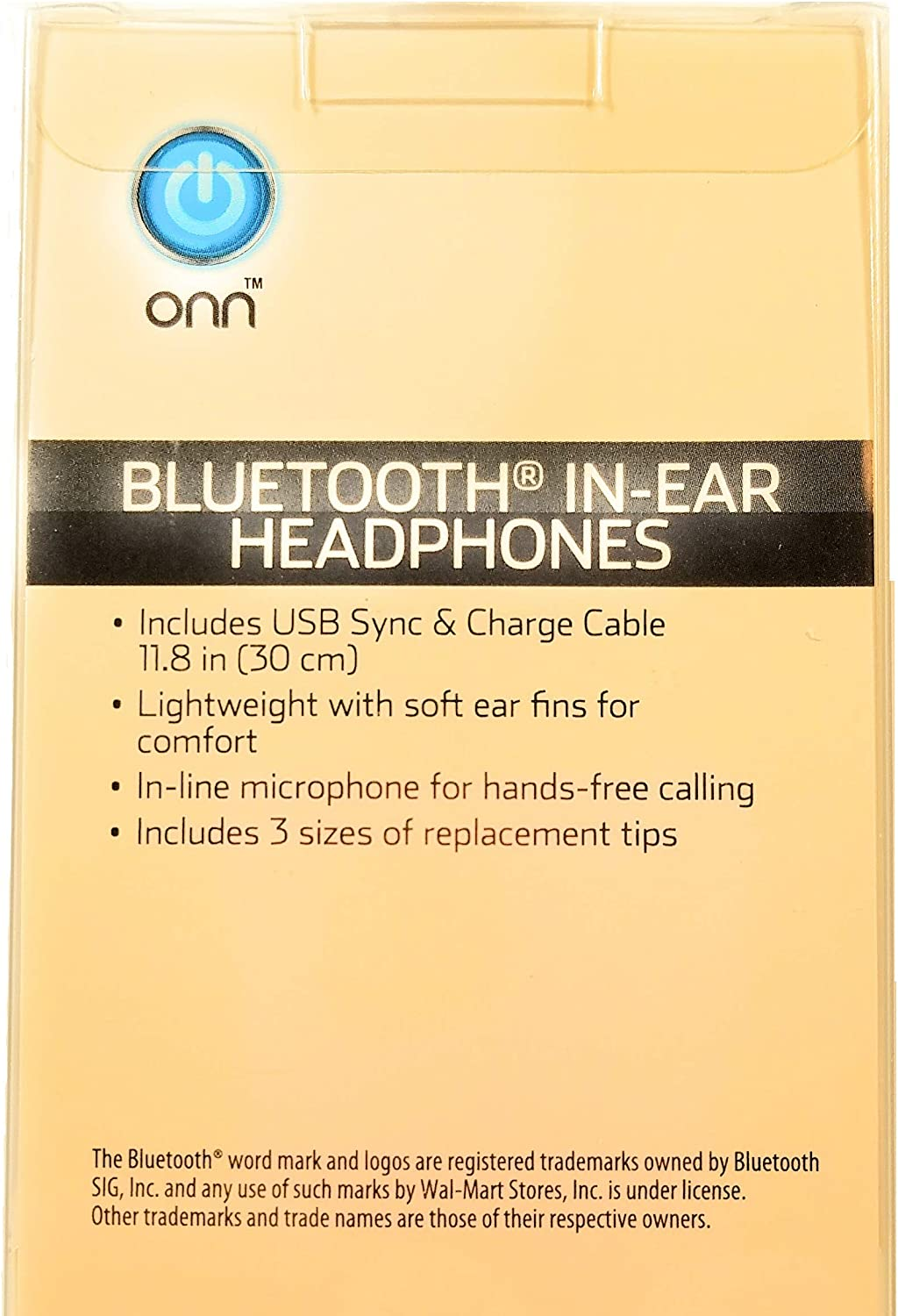 onn bluetooth headphones pairing