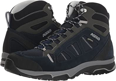 5f7add1e7ca Asolo Men's Megaton Mid GV MM Blueberry/Night Blue 8.5 D US: Amazon ...