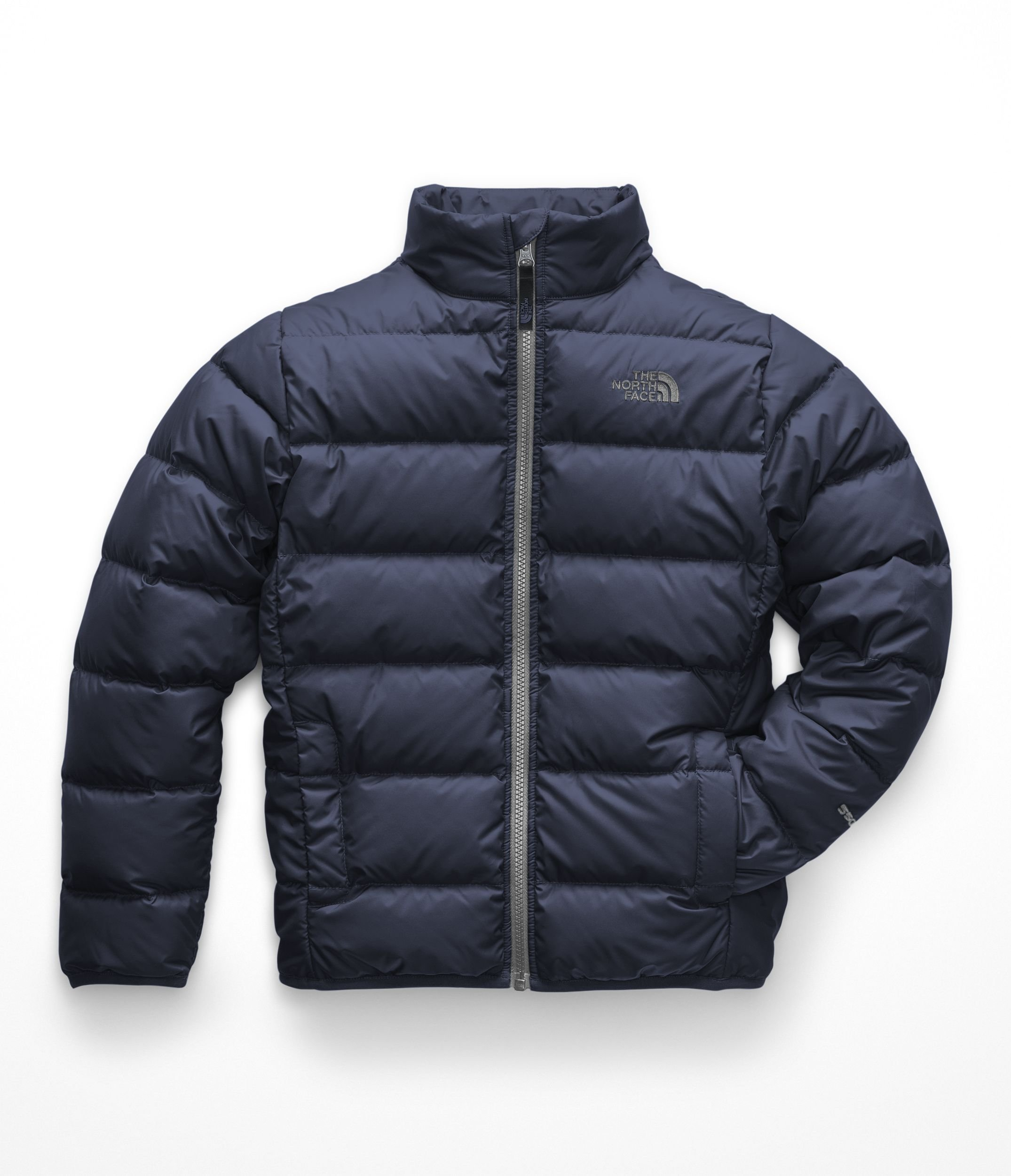 The North Face Boys Andes Jacket - Cosmic Blue & Mid Grey - L