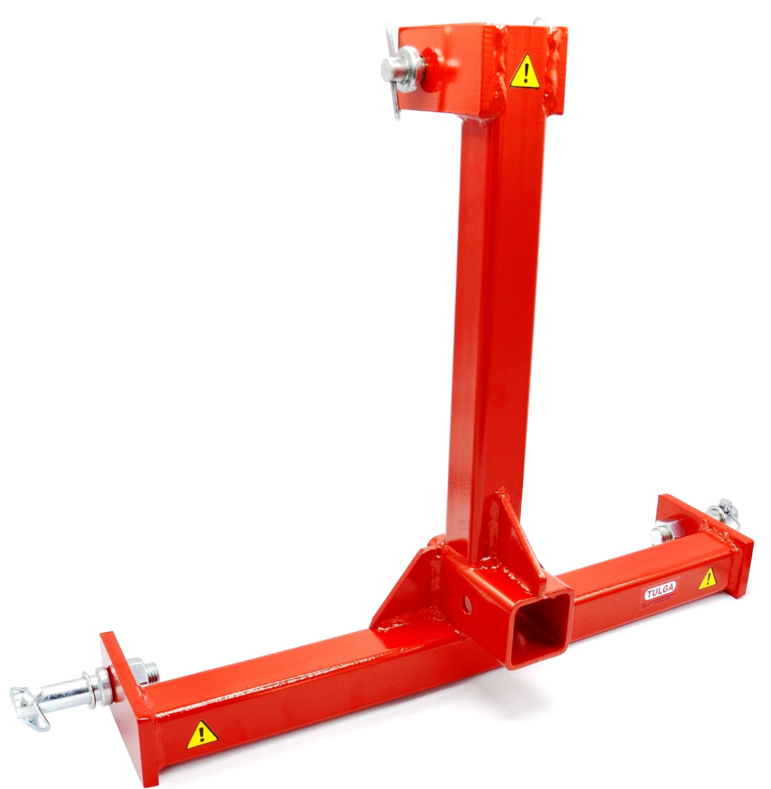 3 Point Trailer Hitch Adapter Category 1 Tow Drawer Convert to 2'' Receiver for BX L3200 Kubota Farm Compact Tractors by Tulga