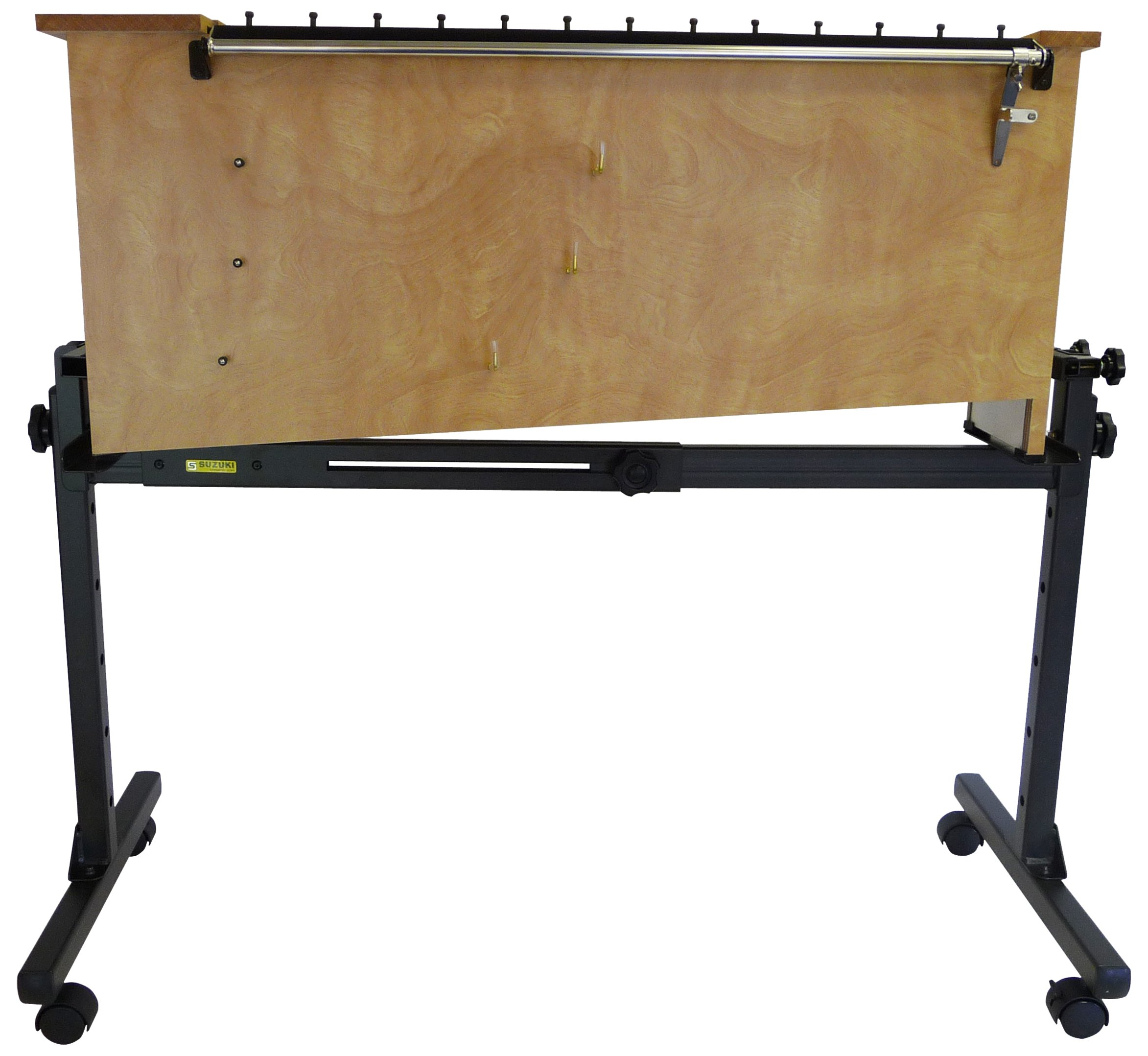 Suzuki Musical Instrument Corporation IC-200 Heavy Duty Instrument Cart S/Wheels