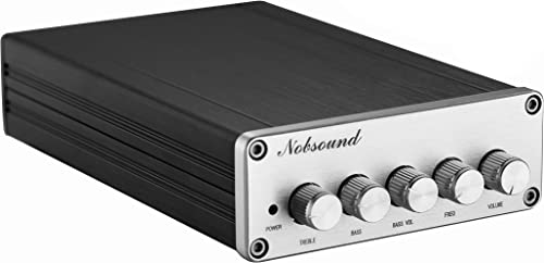 Nobsound HiFi TPA3116D2 2.1 Channel Digital Audio Power Amplifier Stereo Amp 2 50W 100W Subwoofer Treble Bass Independent Adjustment