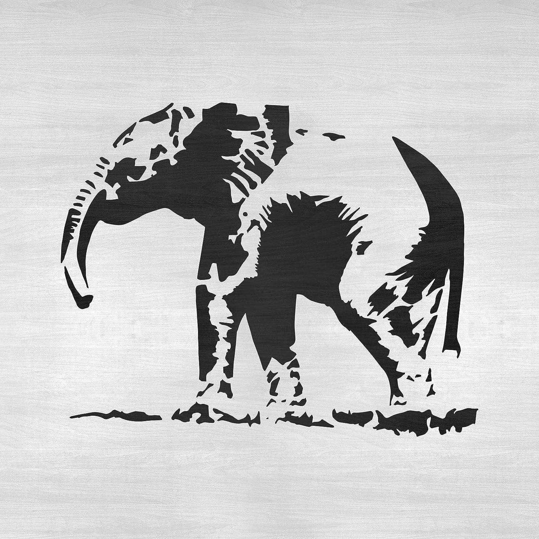 Baby Elephant Stencil 10 mil Mylar Reusable Stencil