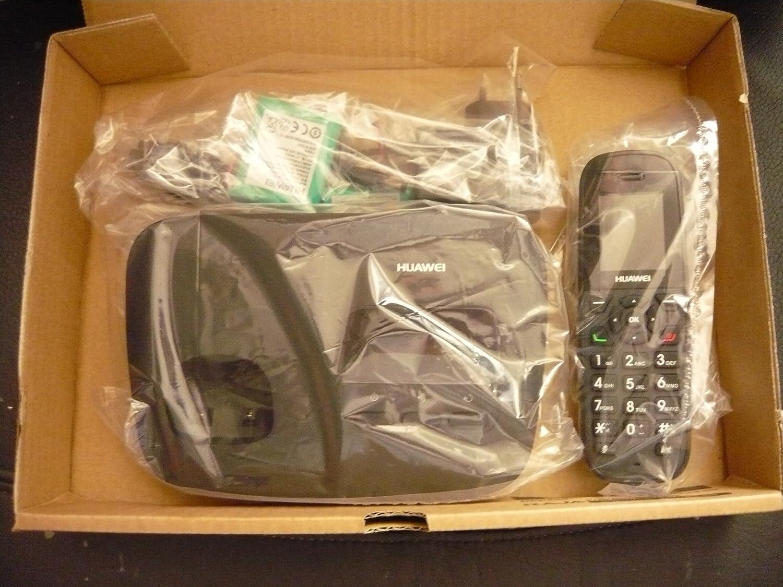 Huawei F688 Téléphone fixe sans fil GSM/3G Fonctionne avec toutes les  cartes SIM de tous les opérateurs mobiles et remplace votre ligne fixe