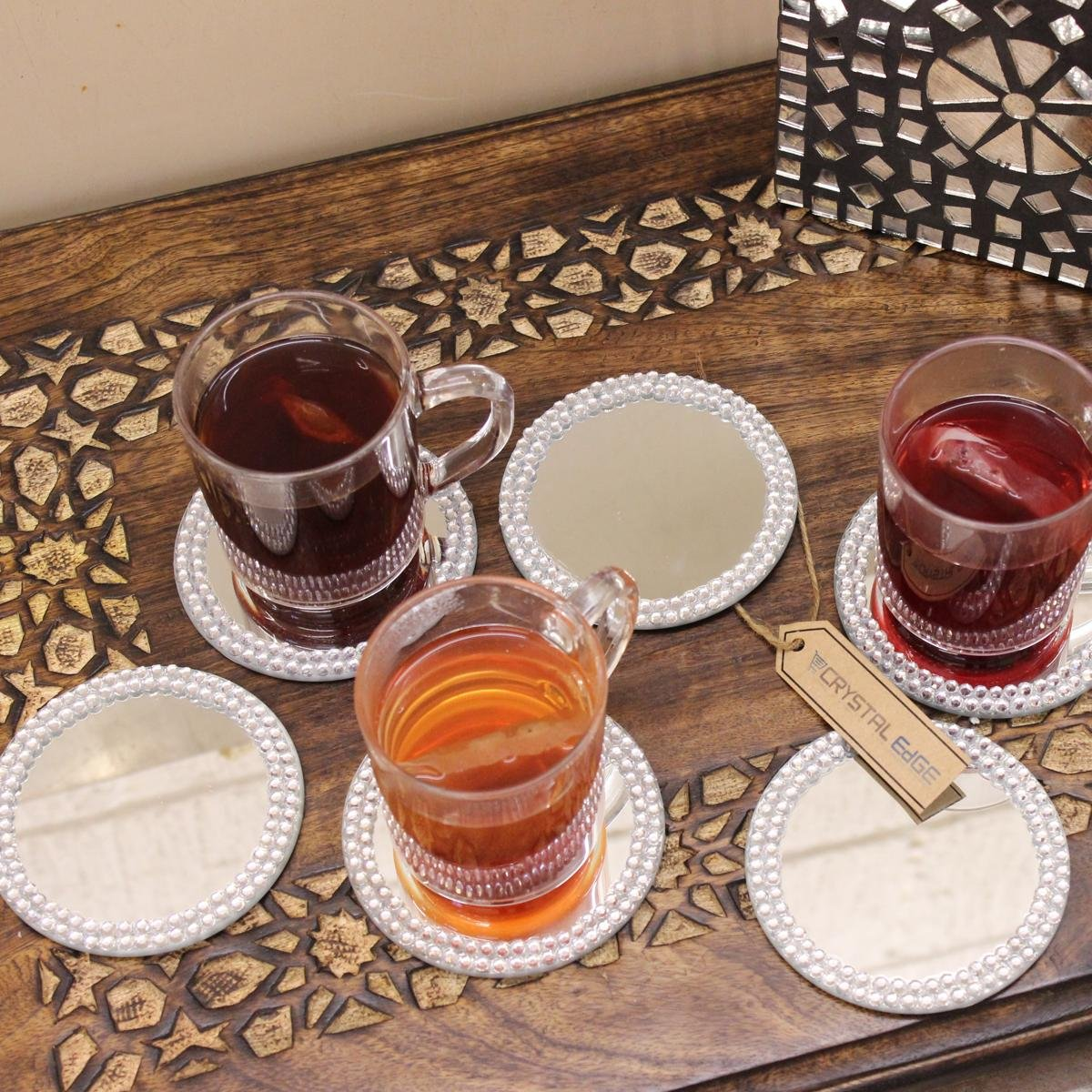 Table Decorations Mirror Plates & Table Decorations Mirror Plates ~ Instadecor.us