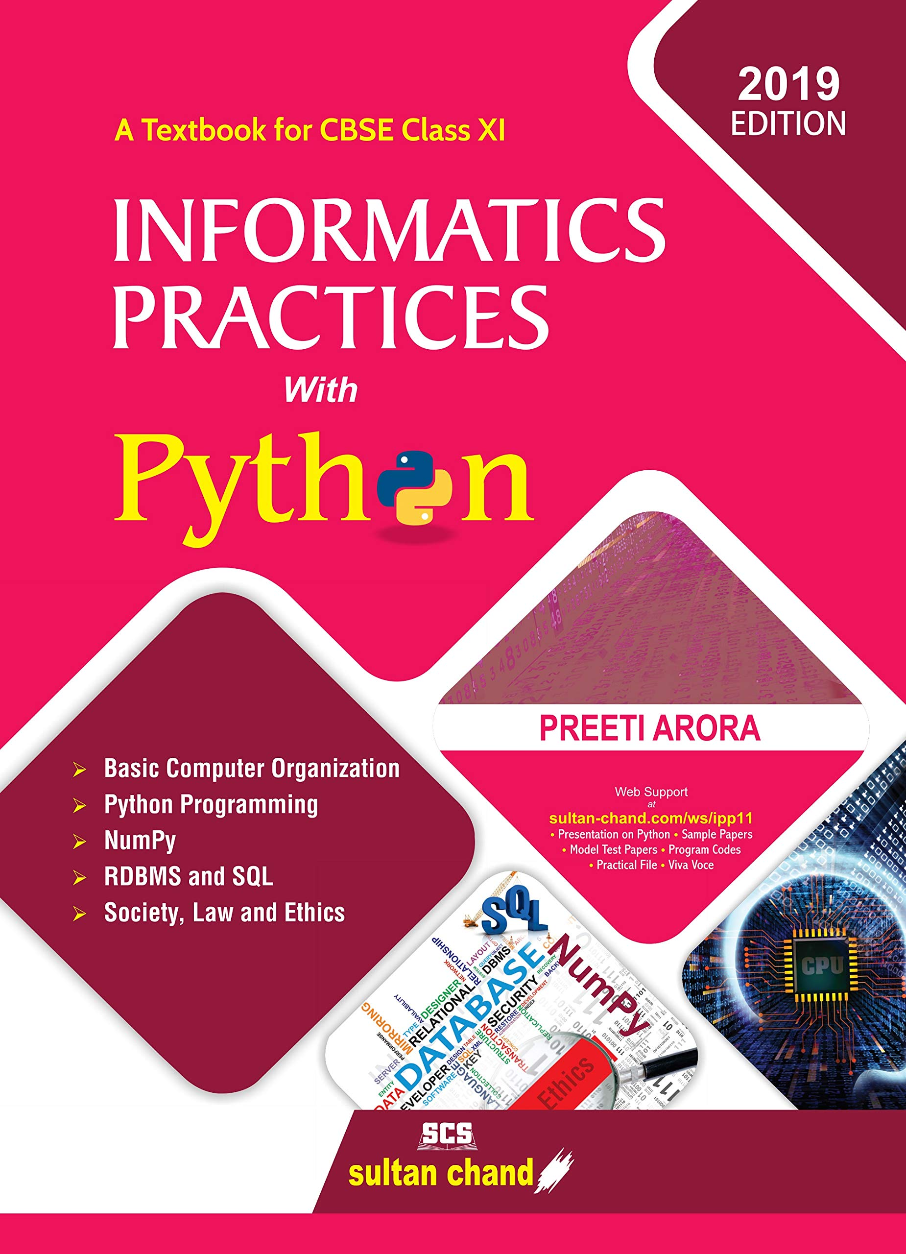 Informatics Practices with Python: Textbook for CBSE Class