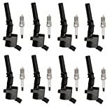ENA Set of 8 Spark Plugs and 8 Ignition Coils for