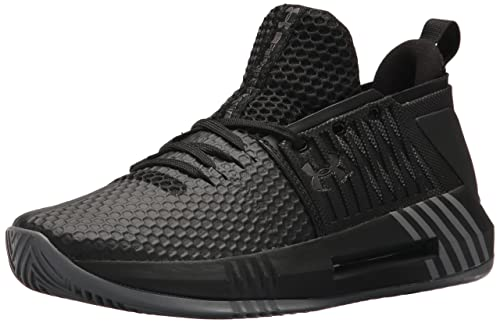 Under Armour UA Drive 4 Low, Zapatos de Baloncesto para Hombre, Negro (Black