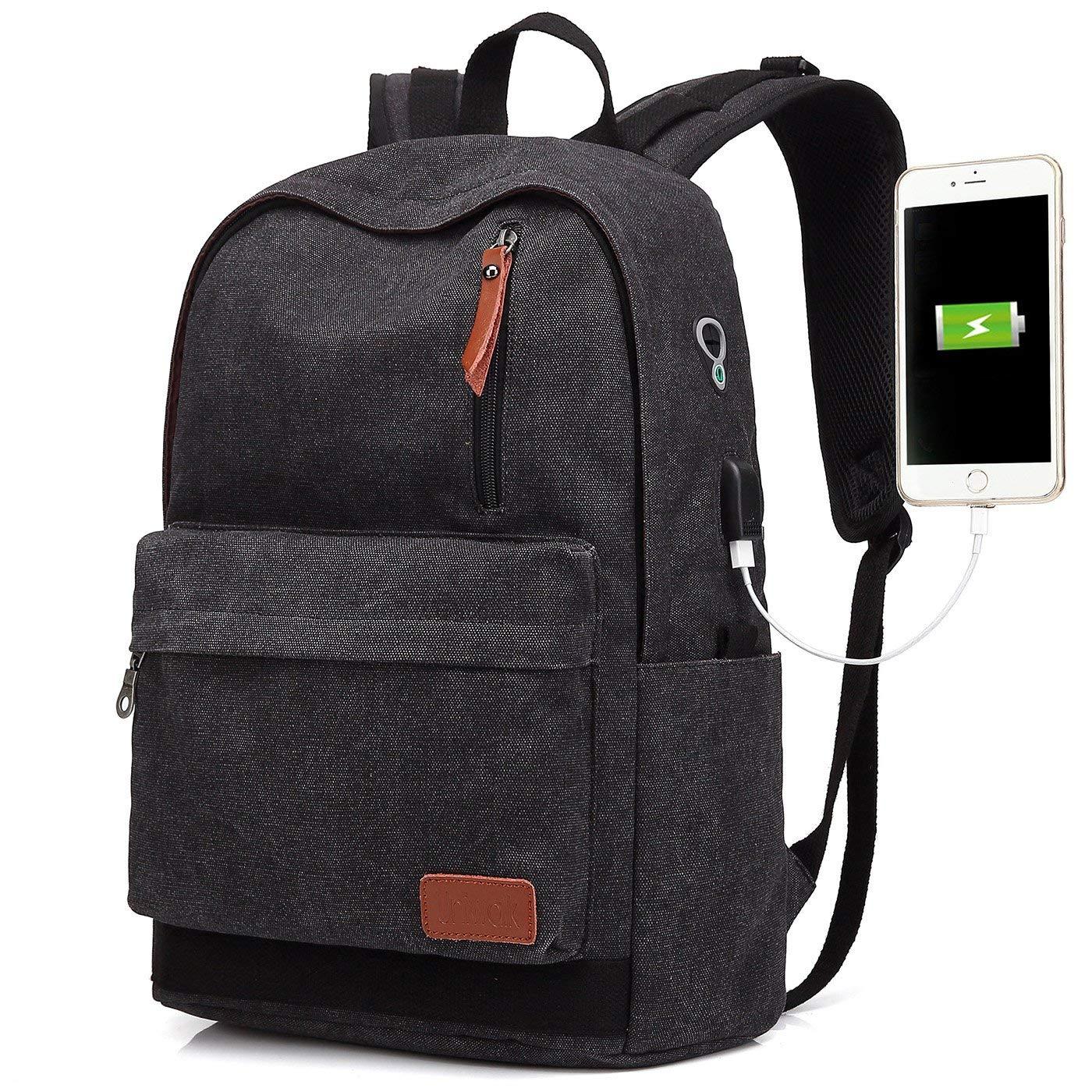 9510edbc1c79 Amazon.com  Canvas Laptop Backpack