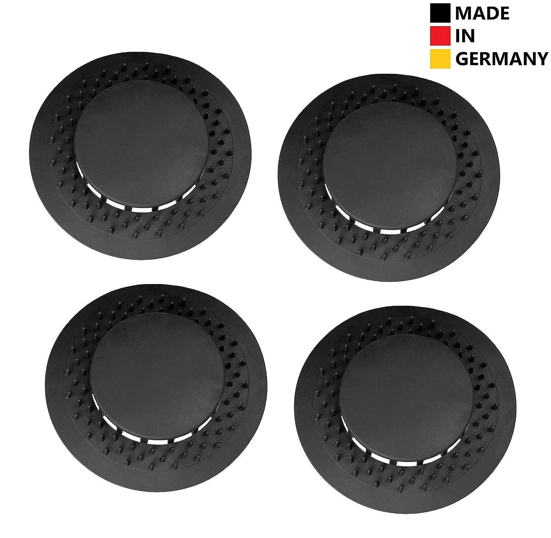 Silikon Haarsieb Badwanne Dusche Abflusssieb Spüle: Abfluss UFO 4er Set, 80 Mm Silikon Abflusssieb, Für Küchen