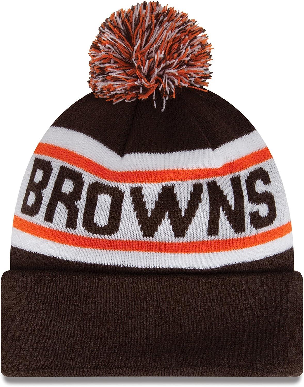 NFL New Era Biggest Fan Redux Knit Beanie with Pom