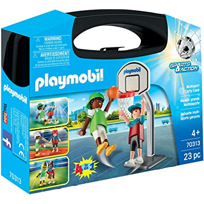 PLAYMOBIL Multisport Carry Case: Toys & Games