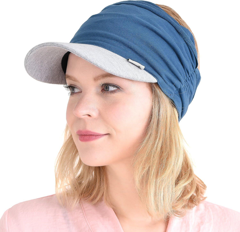 Casualbox Todos Temporada Visera Sombrero Contra Uv Sombrero Para El Sol Sombrero Japon/és Usado Dise/ño Unisex