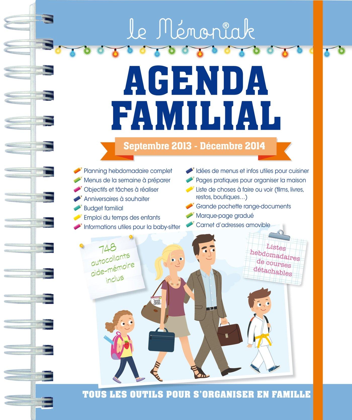 AGENDA FAMILIAL MEMONIAK 2014: 9782351554913: Amazon.com: Books