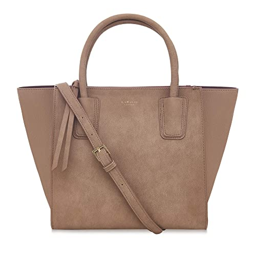 0671c9b76da6 LaBante - Tote Bag Women - Demi- Brown Handbag Work Bag Leather Handbags  Women