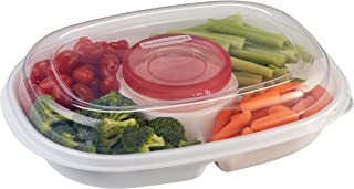 product image for Rubbermaid Party Platter, Clear