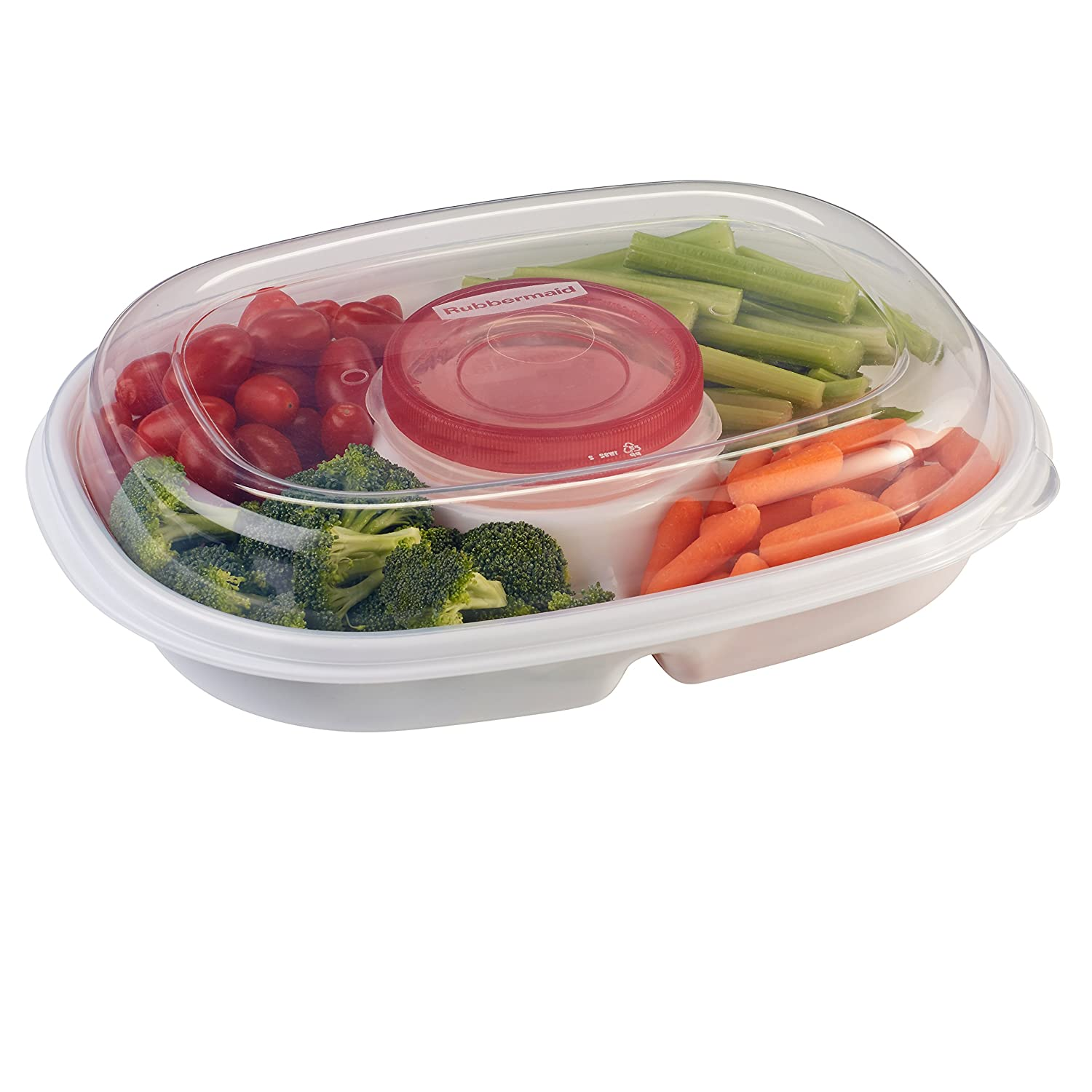 Rubbermaid Specialty Bread Keeper Food Storage Container , Red 1777190 RUBBERMAID INC