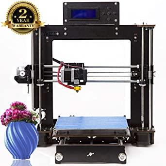 Impresora 3D A8 Prusa I3 DIY Desktop 3D Printer, Impresión rápida y de alta precisión de modelos 3D (120 mm/s), Impresora con 1.75 mm ABS/PLA ...