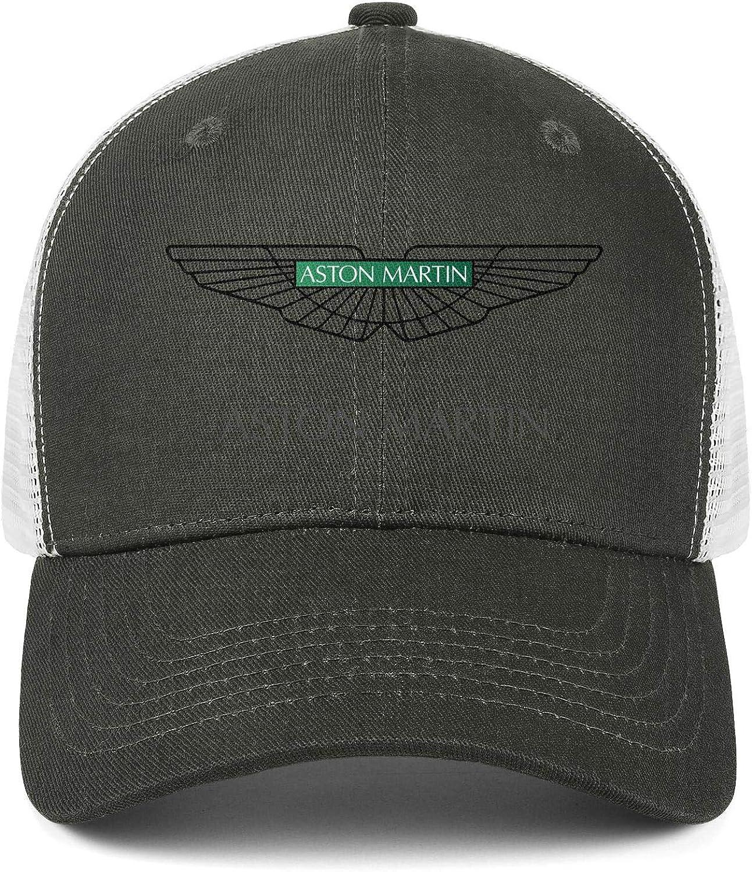 Snapback Adjustable Mesh Hats Cotton Baseball Cap Aston-Martin