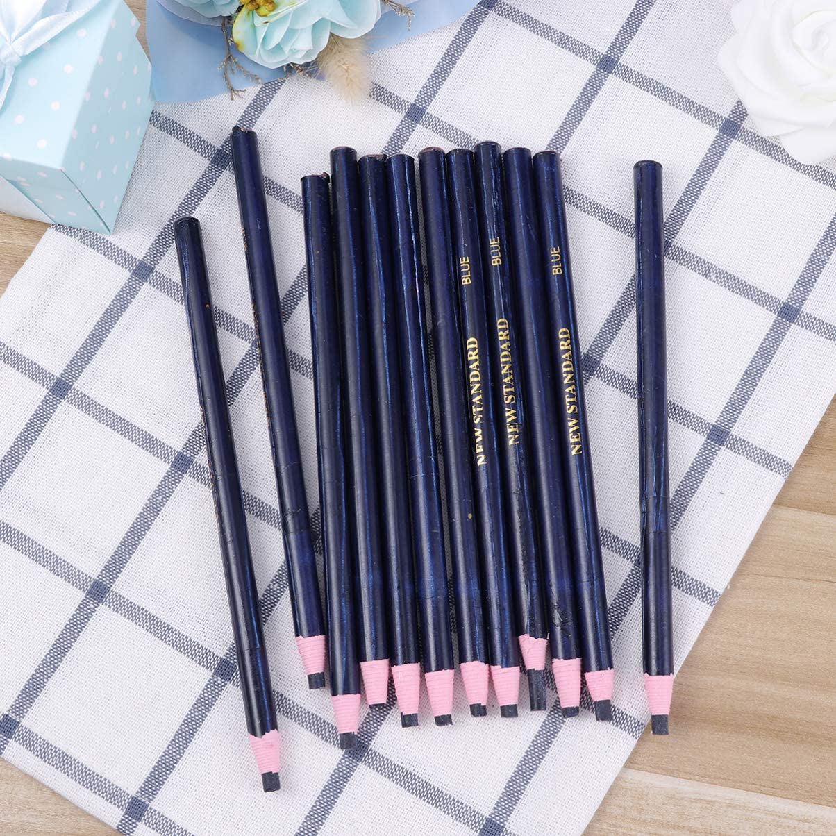 12Pcs Peel Off Marker Grease Pencil Colored Crayon Pen Paper Roll Wax Pencil For Metal Glass Fabric Art Supplies Stylish and Popular