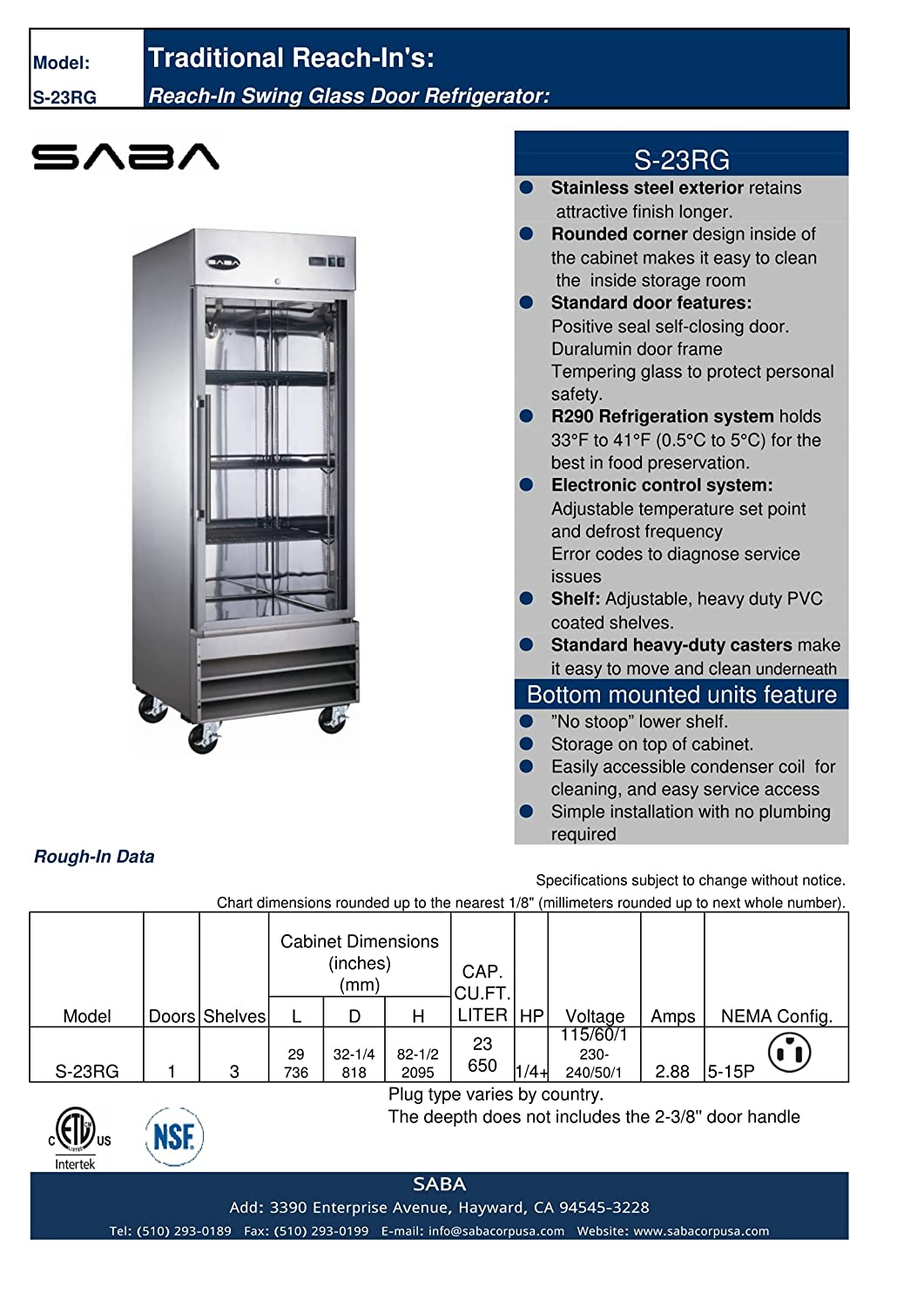 Amazon Heavy Duty Commercial Stainless Steel Glass Door Reach