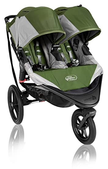 Baby Jogger 2013 Summit X3 Double Stroller Green Prior Model Discontinued By Manufacturer