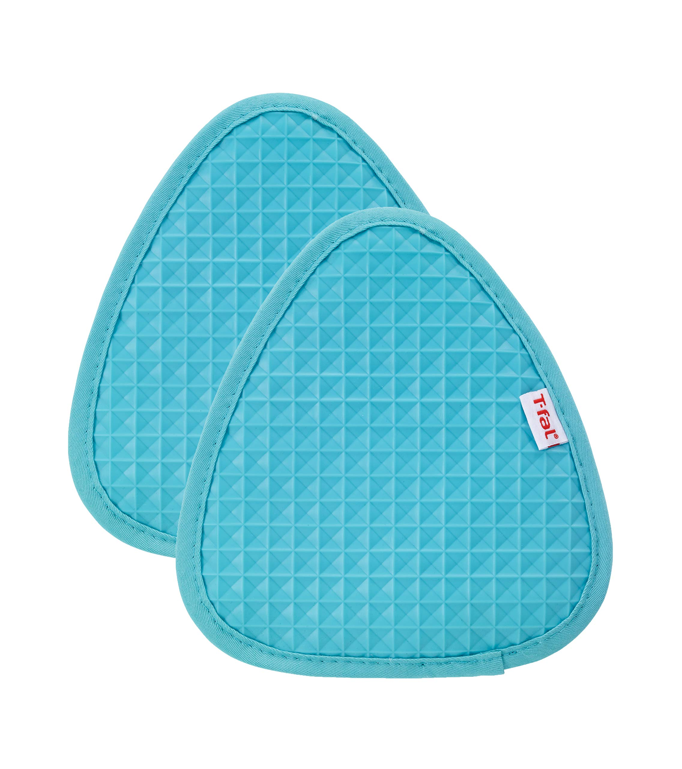 T-fal Textiles 34318 Waffle Softflex Silicone Pot Holder, 2 Pack, Breeze by T-fal Textiles