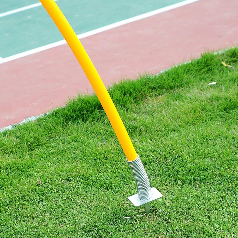 Palo di addestramento di velocit/à di Palo dellindicatore del campo di calcio con il sistema di palo di addestramento del chiodo del metallo ha segment