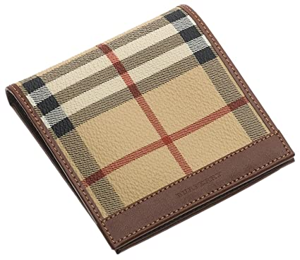 99f54c9e9f39 Image Unavailable. Image not available for. Color  Burberry Men s Leather  Bifold Wallet ...