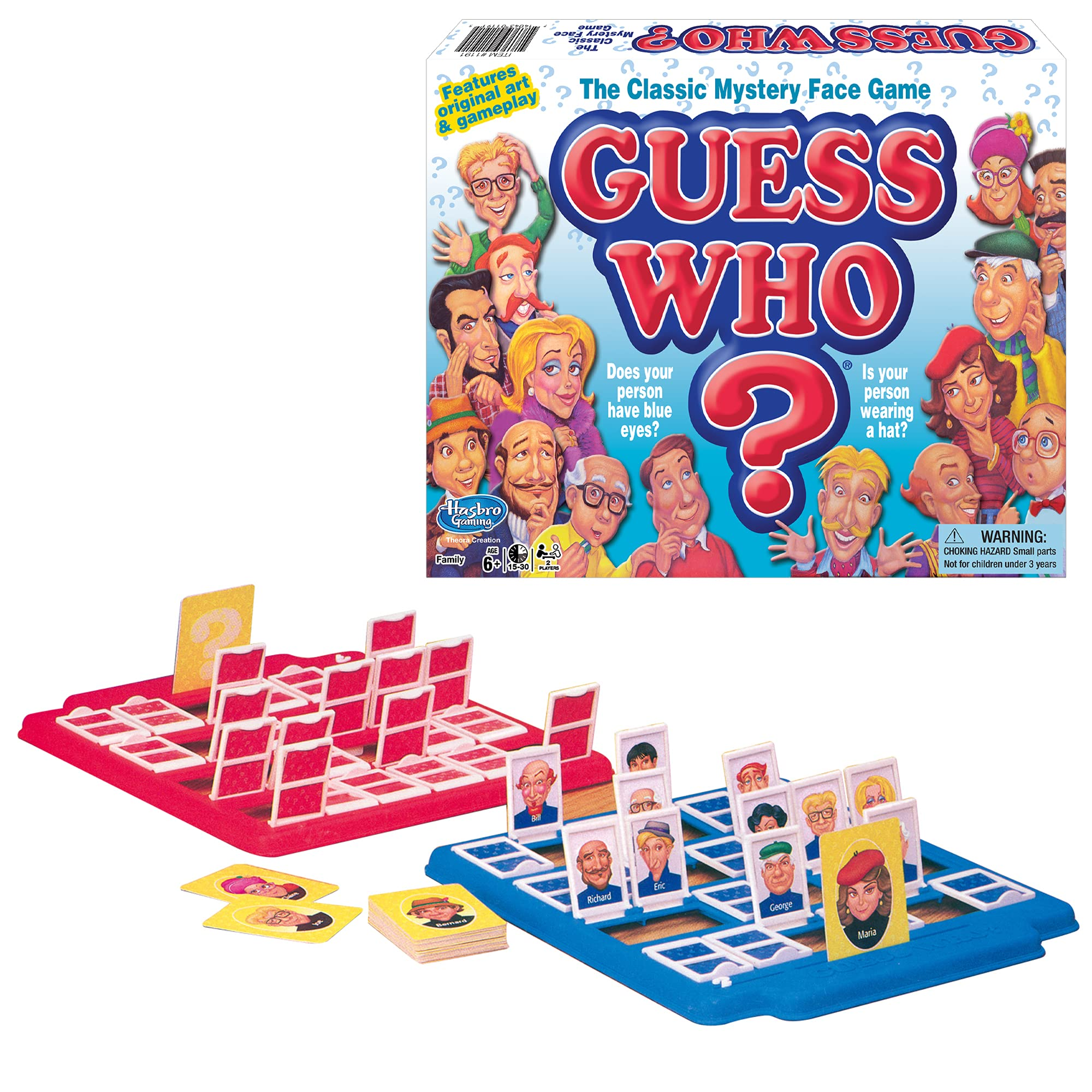 Winning Moves Games Guess Who? Board Game, Multicolor (1191)