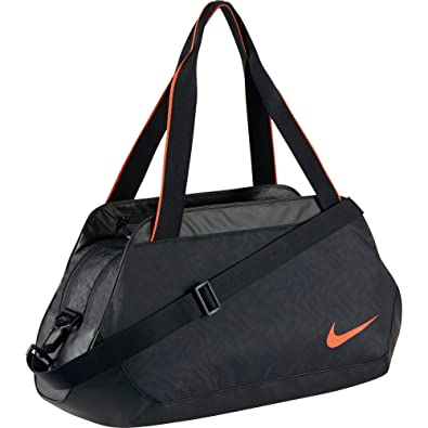 Nike C72 Legend 2.0 Duffel Carry All Bag-Black/White