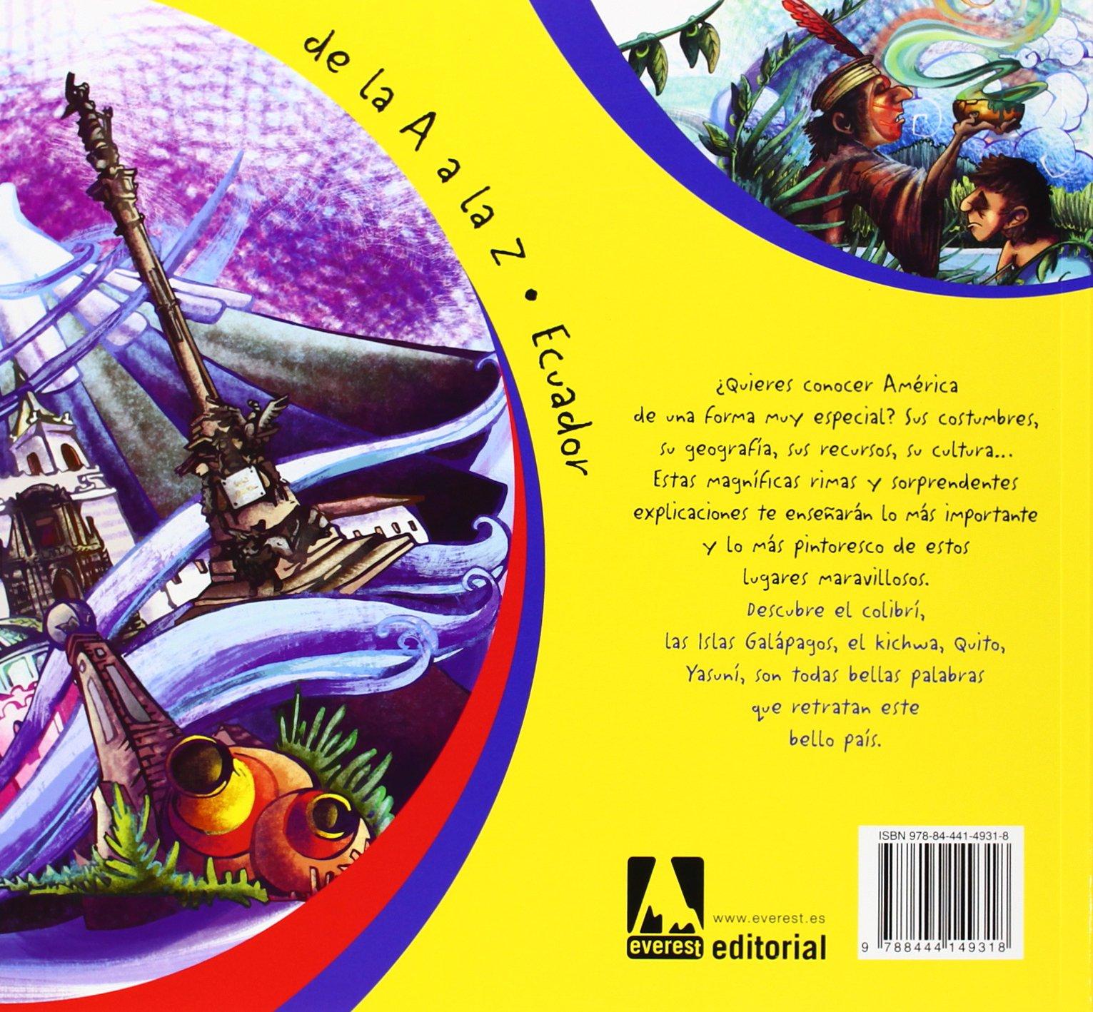 De La A A La Z. Ecuador: Amazon.es: García Rivadeneira Edgar Allan, Chancay Bógar, Chancay Gabriel: Libros