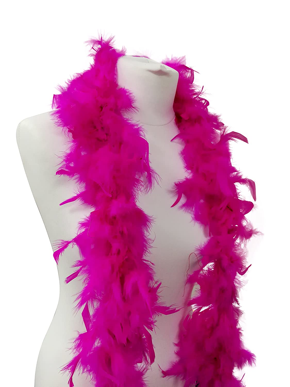 50g Beautiful Hot Pink Feather Boa 180cm