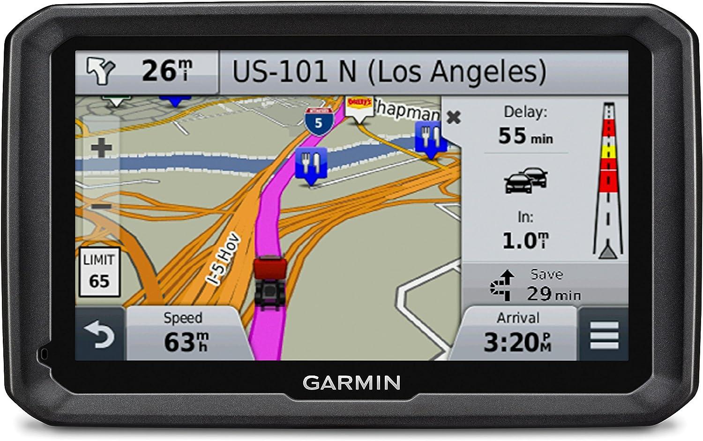 Garmin Dezl 570LMT - Navegador GPS con mapas de por Vida y tráfico en Directo (Pantalla de 5