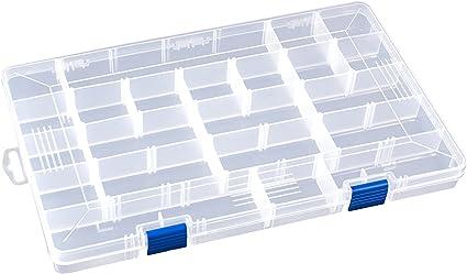 Angelköder Haken Köder Kunststoff Aufbewahrungsbox Einstellbare Fall Tackle