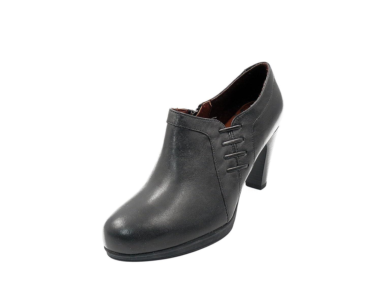en Durable 604 Zapato color PITILLOS negro abotinado Modelando 308 mujer  piel 7wAPBxXw 67608fbb5802