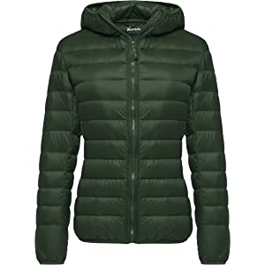 Outdoor Light Down Jacket Hooded
