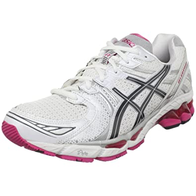 cheap for discount f12c6 0967f Asics Gel Kayano 17 Womens, White Carbon Magenta, 9 USA, B  Amazon.co.uk   Shoes   Bags